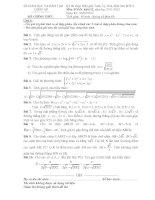 Tài liệu Đề thi HSG trên máy tính cầm tay 2012 môn toán khối 12 ppt