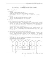 Tài liệu Sửa chữa và vận hành động cơ quạt trần docx