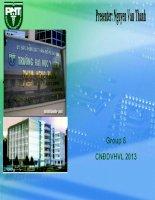Thuyết minh Tiêm chủng tại trạm y tế Phường 8 - Tân Bình