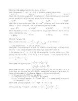 Tài liệu Đề Thi Thử Lớp 10 Toán Học 2013 - Phần 2 - Đề 10 pptx