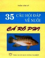 Tài liệu 35 câu hỏi đáp về nuôi cá rô phi doc