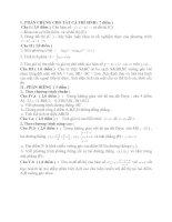 Tài liệu Đề Thi Thử Tốt Nghiệp Toán 2013 - Phần 2 - Đề 17 doc