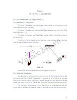 Tài liệu Chương 6: Từ trường và sóng điện từ - Môn: Vật lý đại cương docx