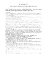 Tài liệu MÔN THÔNG TIN TRONG QUẢN LÝ HÀNH CHÍNH NHÀ NƯỚC docx