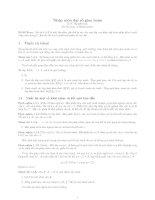 Tài liệu Nhập môn đại số giao hoán pdf