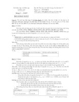 Tài liệu Đề thi tin học trẻ Long An năm 2013 bảng C potx