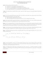 Tài liệu Đề thi tuyển sinh vào lớp 10 chuyên Hóa - Đề 7 pdf