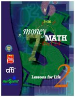 Tài liệu Money Math Lessons for Life docx