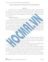 Phân tích bài thơ Đây thôn vĩ Dạ của Hàn Mạc Tử Hỗ trợ dowload tài liệu 123doc qua thẻ cào liên hệ Zalo: 0587998338