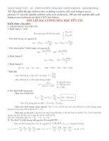 Đại cương hóa hữu cơ 11
