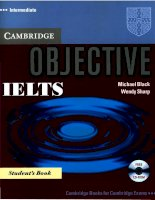 Tài liệu Objective IELTS Advanced Workbook with Answers pptx