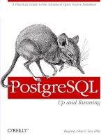 Tài liệu PostgreSQL: Up and Running doc