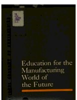 Tài liệu education for the manufacturing world of the future doc