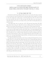 Tài liệu PHÂN LOẠI VÀ CÁCH GIẢI MỘT SỐ BÀI TOÁN VỀ GIAO THOA ÁNH SÁNG VỚI KHE YOUNG ( Y–ÂNG) pdf