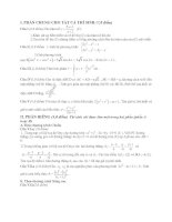 Tài liệu Đề Thi Thử Đại Học Khối A, A1, B, D Toán 2013 - Phần 22 - Đề 15 docx