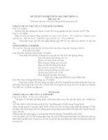 Tài liệu Đề Thi Thử Tốt Nghiệp Văn 2013 - Phần 3 - Đề 15 pptx