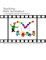 Tài liệu Teaching With Animation - a booklet about animation potx