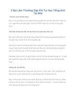 Tài liệu 5 Sai Lầm Thường Gặp Khi Tự Học Tiếng Anh Tại Nhà pot