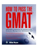 How to pass the GMAT   unbeatable preparation for success in the graduate management admission test