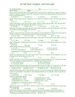Tài liệu Đề Thi Thử Đại Học Khối A, B Hóa 2013 - Phần 11 - Đề 26 pdf