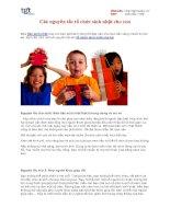 Tài liệu Các nguyên tắc tổ chức sinh nhật cho con doc