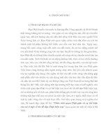 nhân sinh quan phật giáo và sự thể hiện của nó ở một số tín đồ đạo phật hiện nay