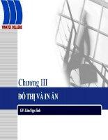 Tài liệu Bài giảng tin học ứng dụng: Chương III - Đồ thị và in ấn potx