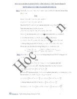 bài tập cực trị của hàm số lần 2