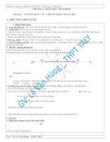 Tài liệu Chương 1 - Động học chất điểm - Bài tập tự luận pdf