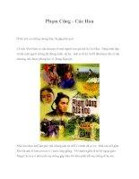 Tài liệu Phạm Công - Cúc Hoa pdf