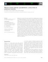 Tài liệu Báo cáo khoa học: Marine toxins and the cytoskeleton: a new view of palytoxin toxicity ppt