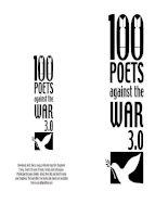 Tài liệu 100 bài thơ tiếng anh doc