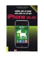 Hướng dẫn sử dụng sửa chữa và cài đặt Phone 2G-3G