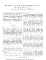 Tài liệu Internet Traffic Behavior Profiling for Network Security Monitoring pptx