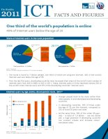 Tài liệu The World in 2011 ICT Facts and Figures pdf