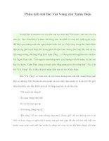Tài liệu Phân tích bài thơ Vội Vàng của Xuân Diệu pot