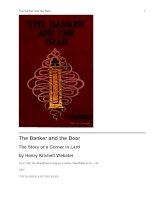 Tài liệu The Banker and the Bear The Story of a Corner in Lard ppt