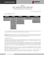 Tài liệu BỨC TRANH NGỮ PHÁP TIẾNG ANH docx