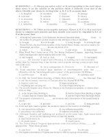 Tài liệu Đề Thi Thử Đại Học Khối A1, D Anh 2013 - Phần 2 - Đề 11 pdf