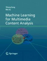 Tài liệu Machine Learning Multimedia Content Analysis ppt