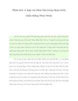 Tài liệu Phân tích vẻ đẹp của Đăm Săn trong đoạn trích chiến thắng Mtao Mxây potx