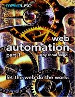 Tài liệu WEB AUTOMATION PART 1 doc