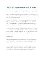 Tài liệu 8 lý do để bạn mua máy tính Windows doc