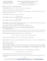 Tài liệu Tổng hợp đề thi thử ĐH môn Toán các khối Đề 49 pot