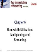 Tài liệu Chapter 6 Bandwidth Utilization: Multiplexing and Spreading pptx