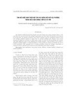 Tài liệu Tìm hiểu mức đạm thích hợp cho hai giống ngô nếp địa phương trong điều kiện không tưới và có tưới pdf