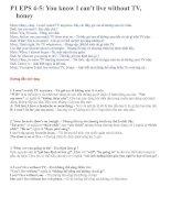 Tài liệu 4-5cách học nói tieng anh cơ bản pptx