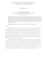 Nghiên cứu và đề xuất các phương pháp kiểm thử giao diện phần mềm