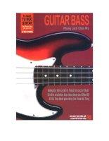 Tài liệu Guitar Bass phong cách Châu Mỹ docx