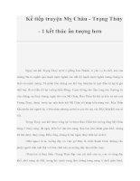 Tài liệu Kể tiếp truyện Mỵ Châu - Trọng Thủy - 1 kết thúc ấn tượng hơn pot